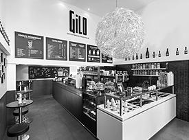 GiLO – Coffee · Frozen Yogurt · Bar